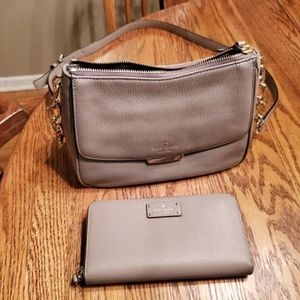 Kate Spade Crossbody purse with matching wallet